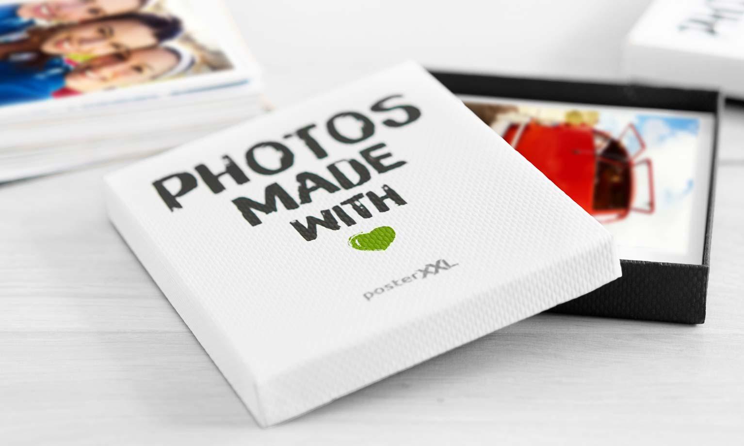 Retro foto's met box