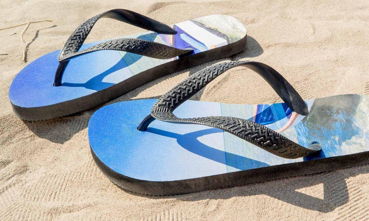 Strand-Sandalen
