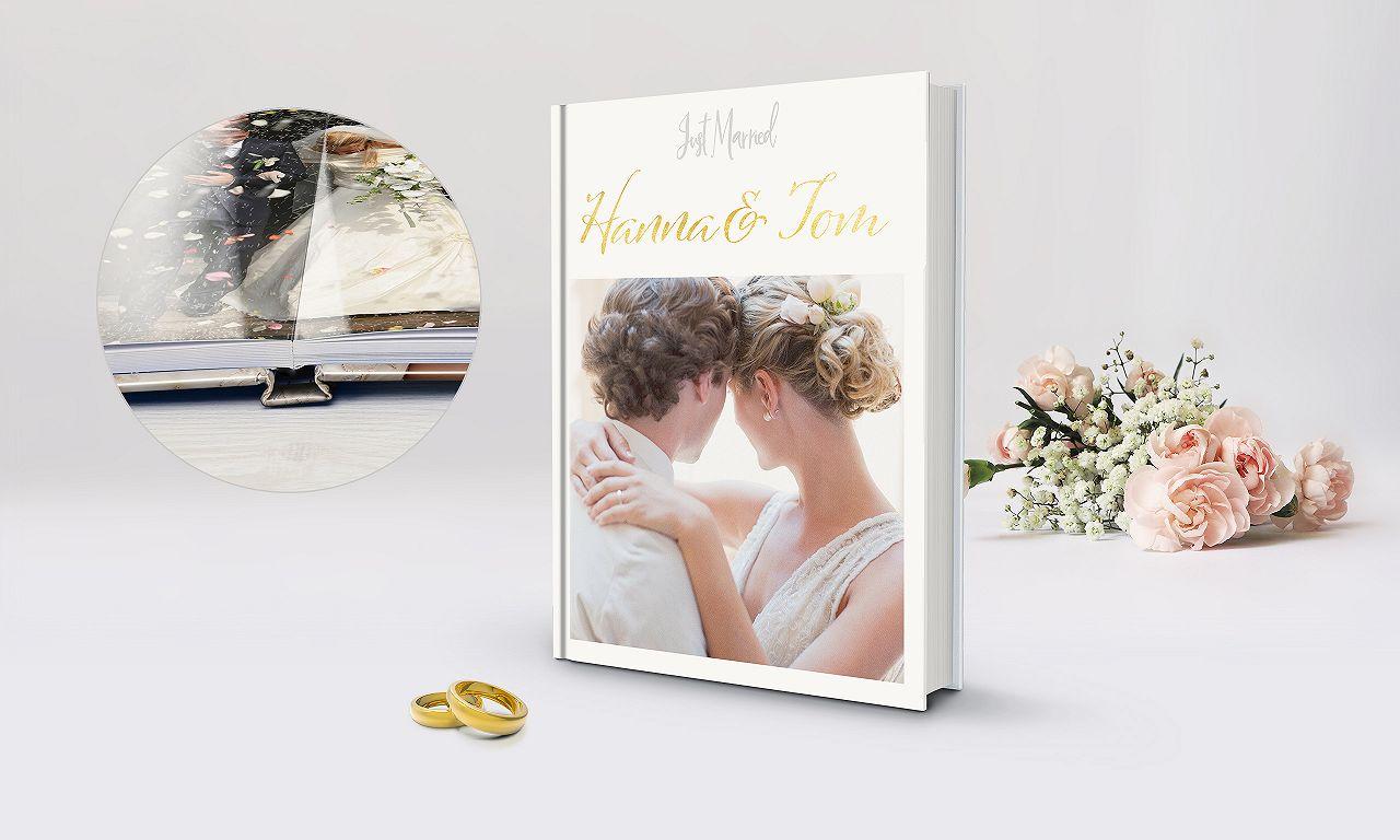 Fotobuch Hardcover Premium: Jetzt unser Hochzeits-Special nutzen!