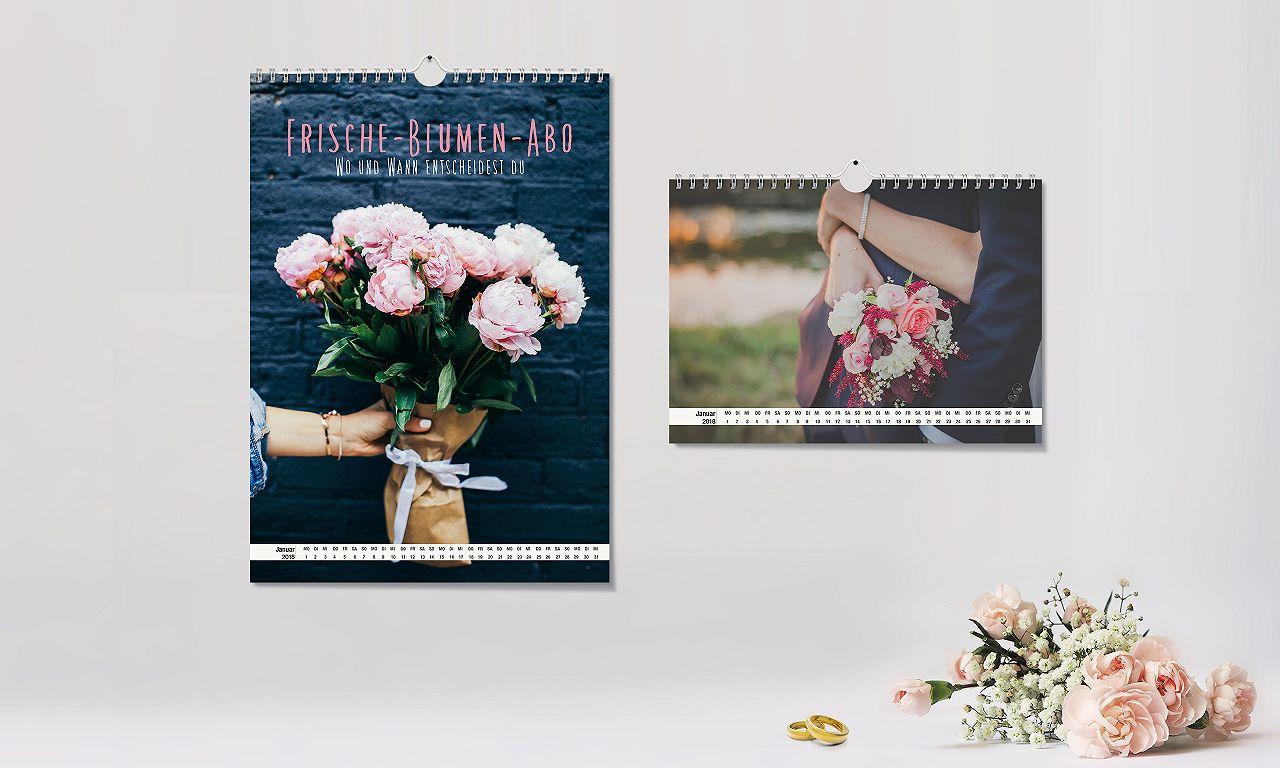 Fotokalender: Jetzt unser Hochzeits-Special nutzen!