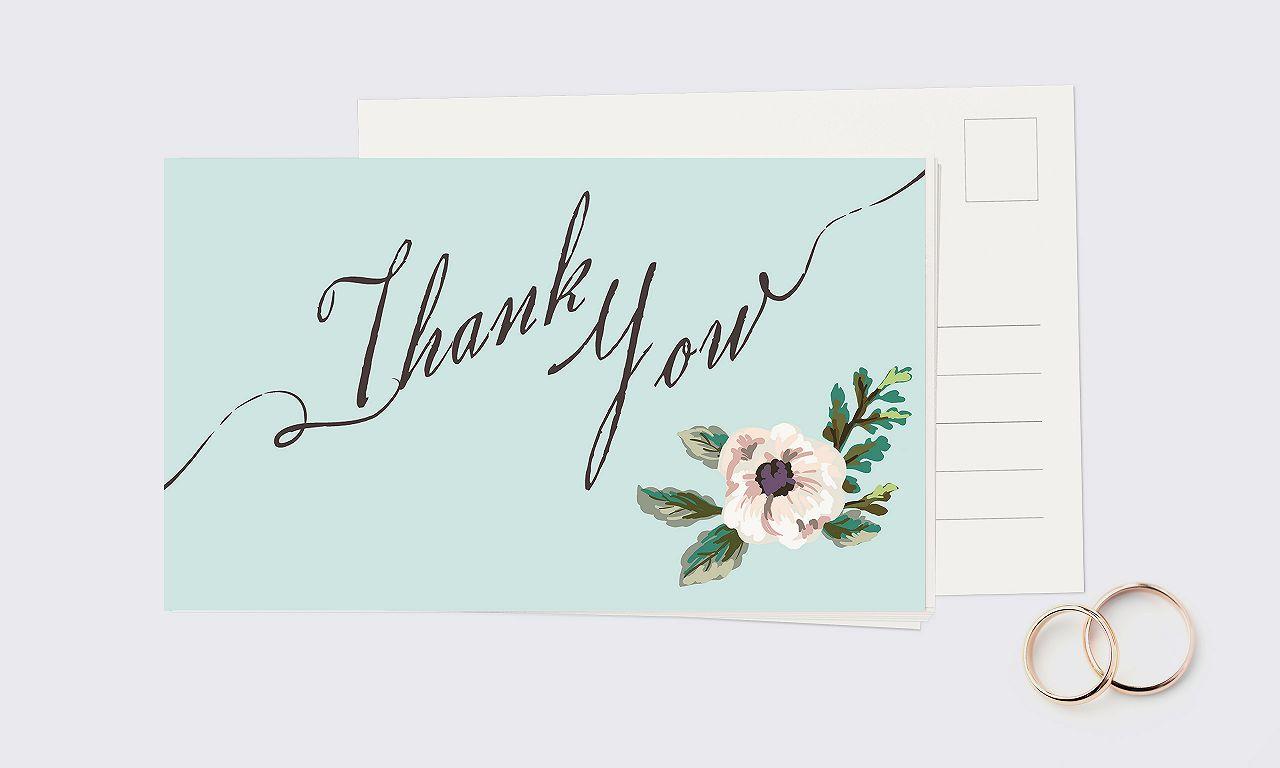 Dankeschön-Karten: Jetzt unser Hochzeits-Special nutzen