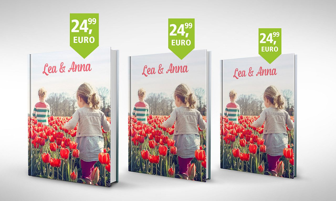 Fotobuch Hardcover: unser Bestseller zum Flatrate-Preis