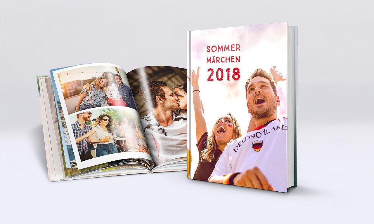 Fotobuch Hardcover Klassik: Jetzt unser WM-Special nutzen